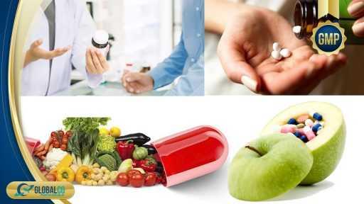 Gia công thực phẩm bảo vệ sức khỏe