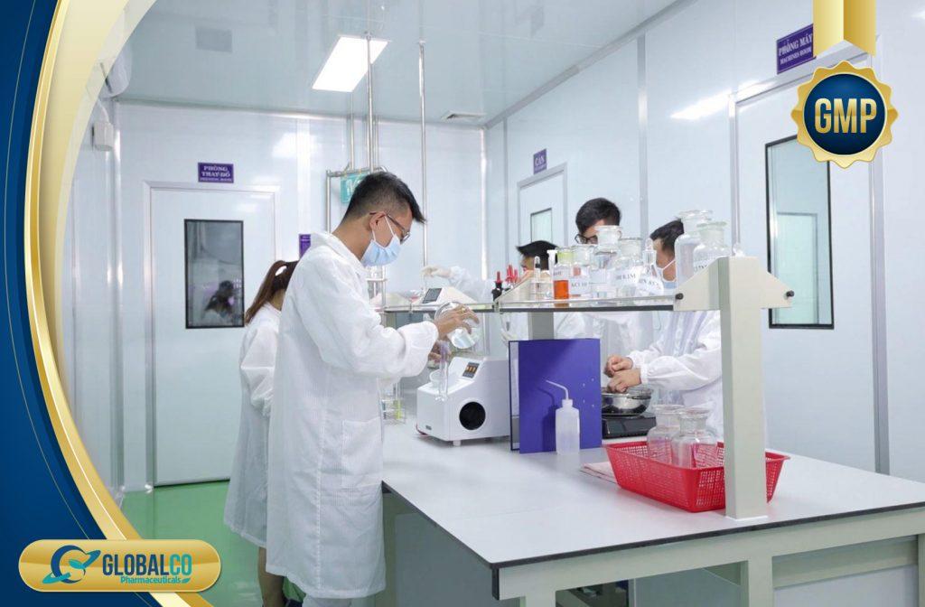 Phòng lab của Globalco