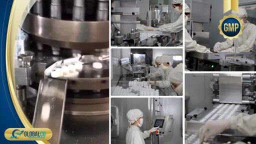 quy trình sản xuất gia công thực phẩm chức năng