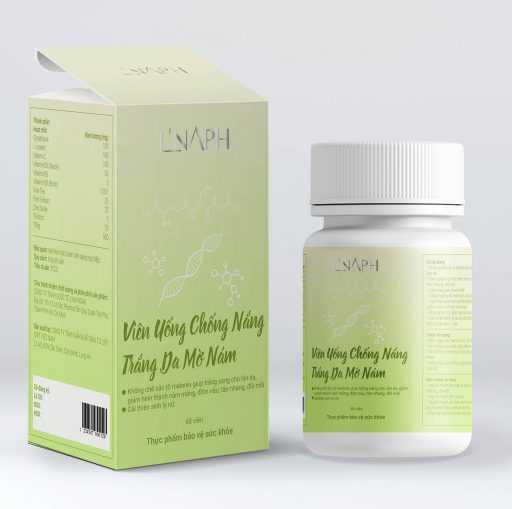 Sản phẩm trắng da kết hợp Vitamin C, B3 (Niacinamide), B5, B8(Biotion)