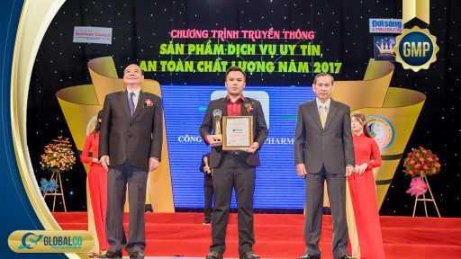 Globalco nhận giải thưởng