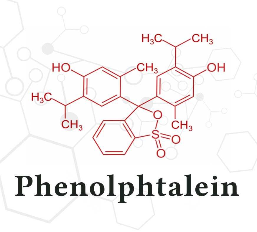 phenolphtalein là gì? công dụng trong thuốc giảm cân