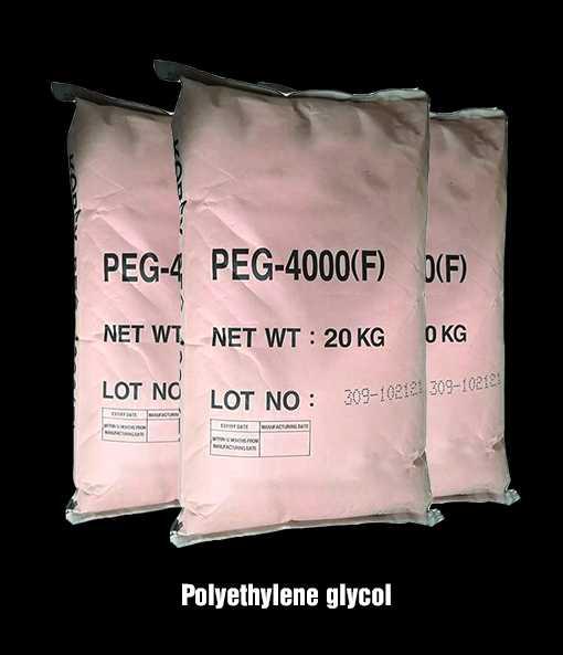 Các ứng dụng hóa chất của polyethylene glycol