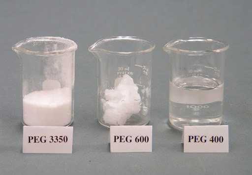 Polyethylene glycol là gì đang là nỗi băn khoăn chung của nhiều người