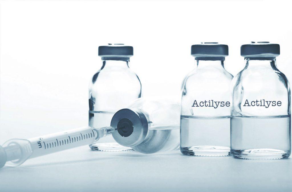 Actilyse được sử dụng để làm gì