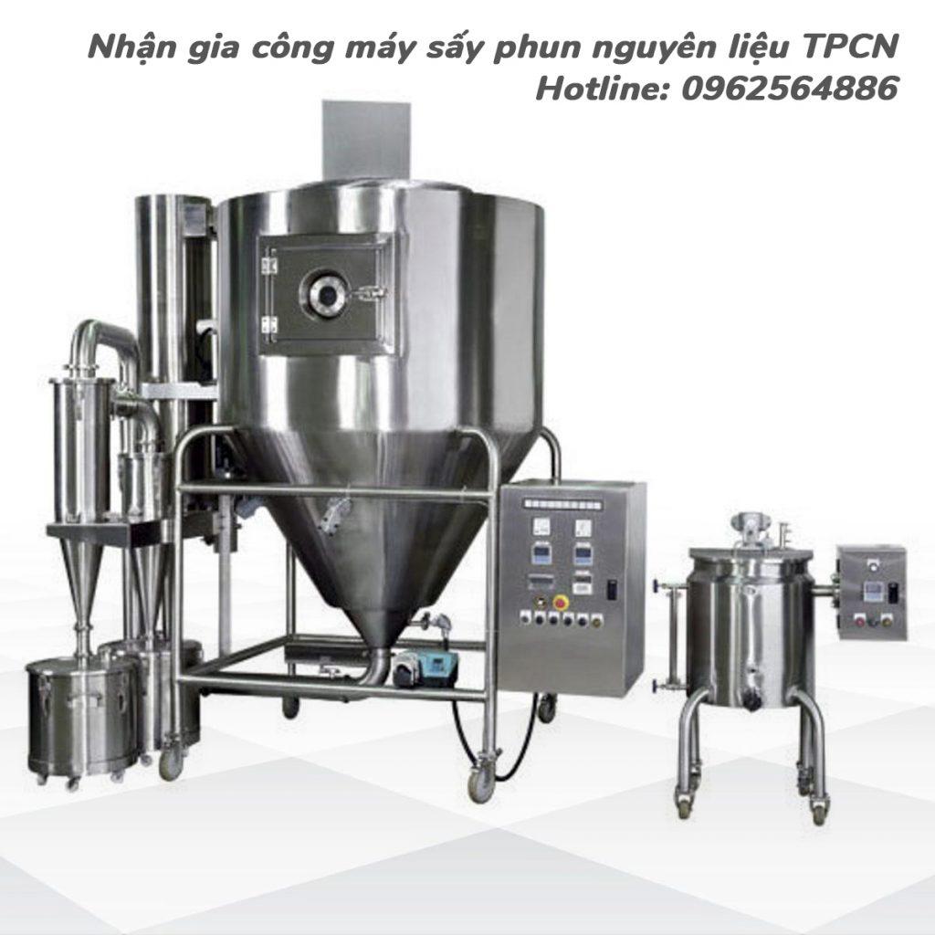 Sấy phun là gì? Nhận gia công nguyên liệu tại TPHCM