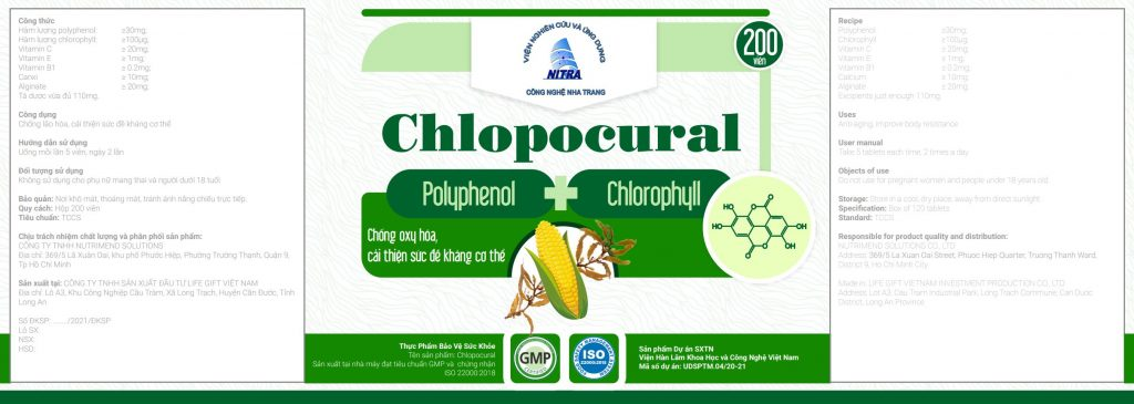 Maquete Sản phẩm Chlopocural