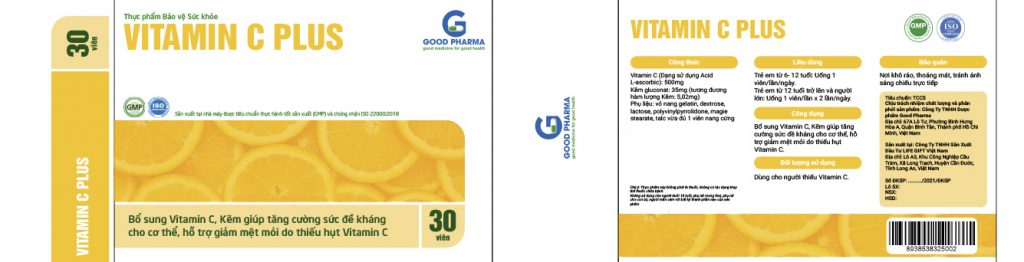 Globalco hợp tác cùng Công Ty TNHH Dược Phẩm Good Pharma để phát triển sản phẩm Vit C Plus