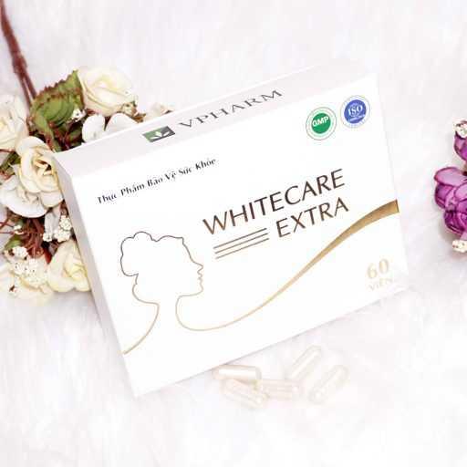 Viên trắng da kết hợp cân bằng nội tiết tố Whitecare Extra